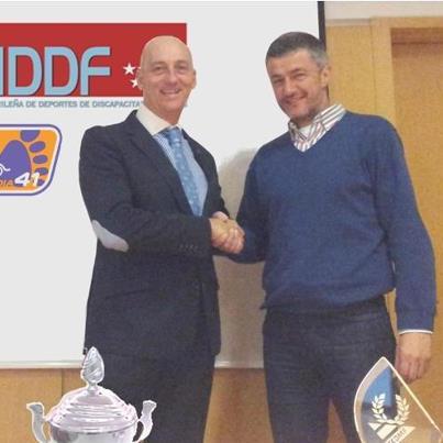 La FMDDF firma un acuerdo de colaboración con ORTOPEDIA 41