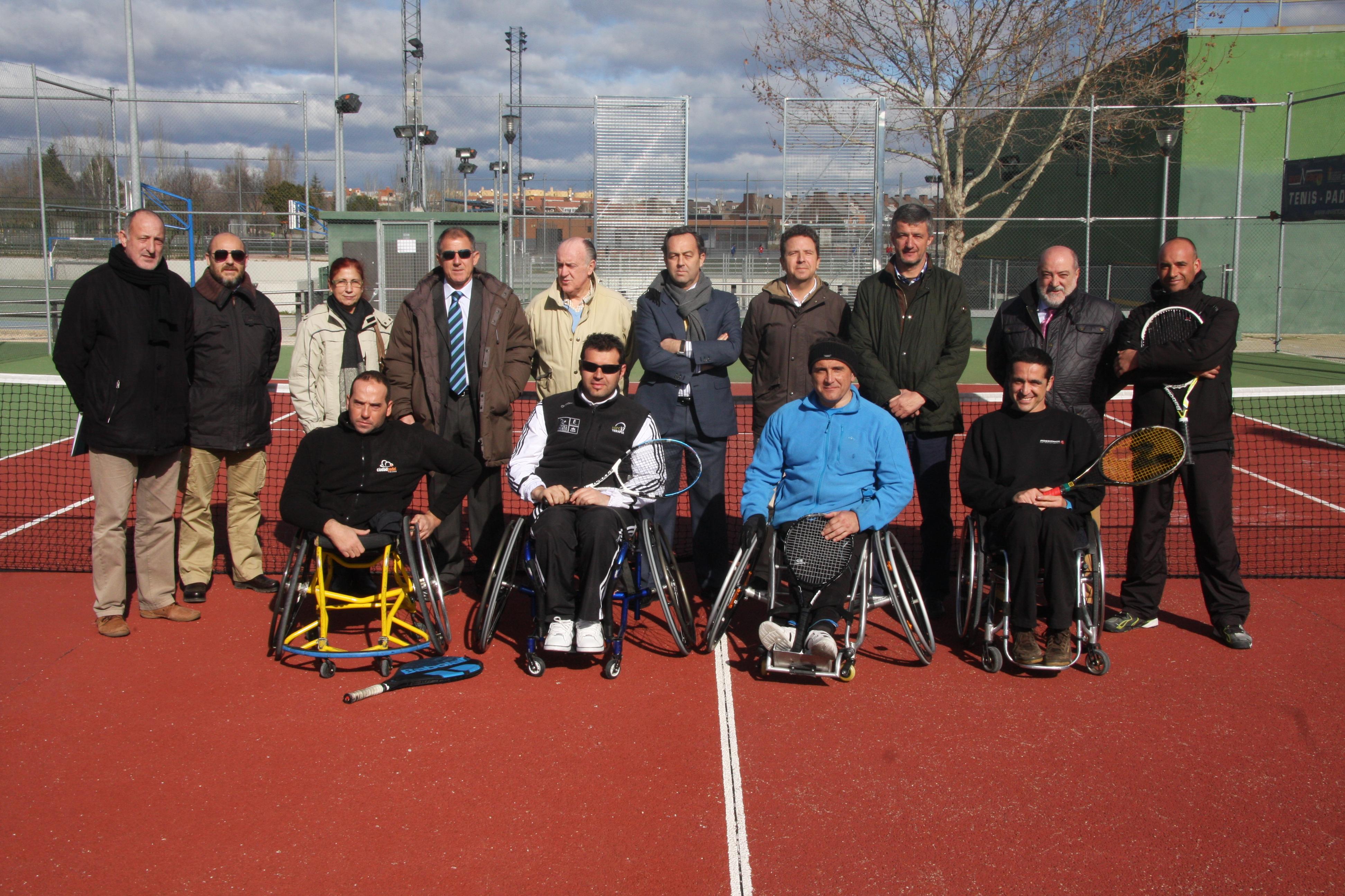 Se presenta la Escuela de Tenis en Silla de Ruedas de Getafe