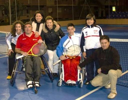 Roberto Chamizo gana el primer torneo de tenis en silla del año en Almuñécar ante Carlos Pina