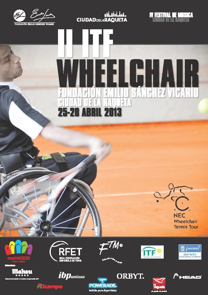 Empieza el II Torneo ITF Wheelchair Fundación Emilio Sánchez Vicario