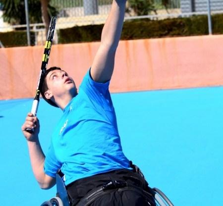 Roberto Chamizo se concentra en Madrid con la Selección de Tenis en Silla para preparar la próxima Copa del Mundo