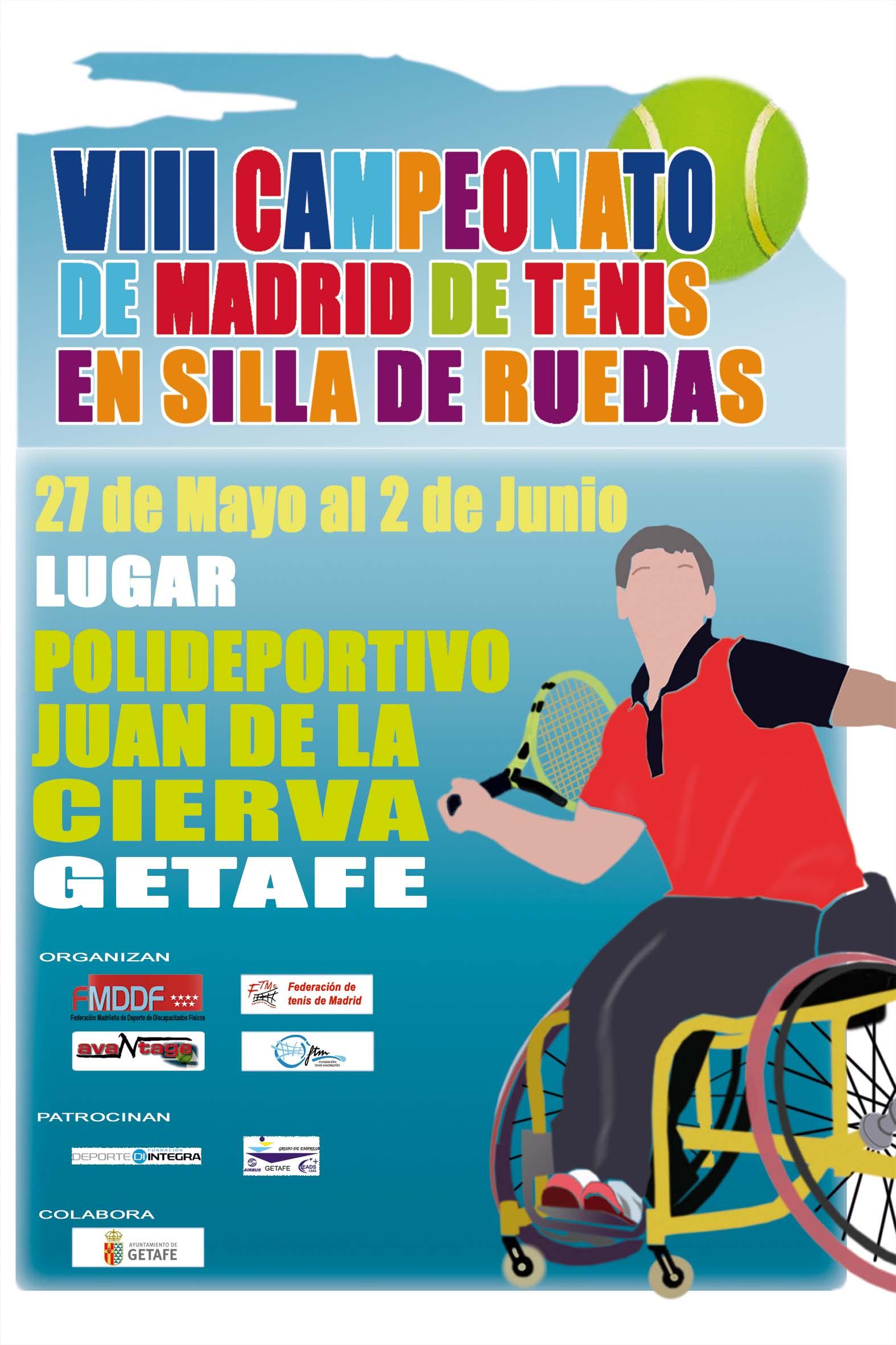 VIII Campeonato de Madrid de Tenis en Silla de Ruedas