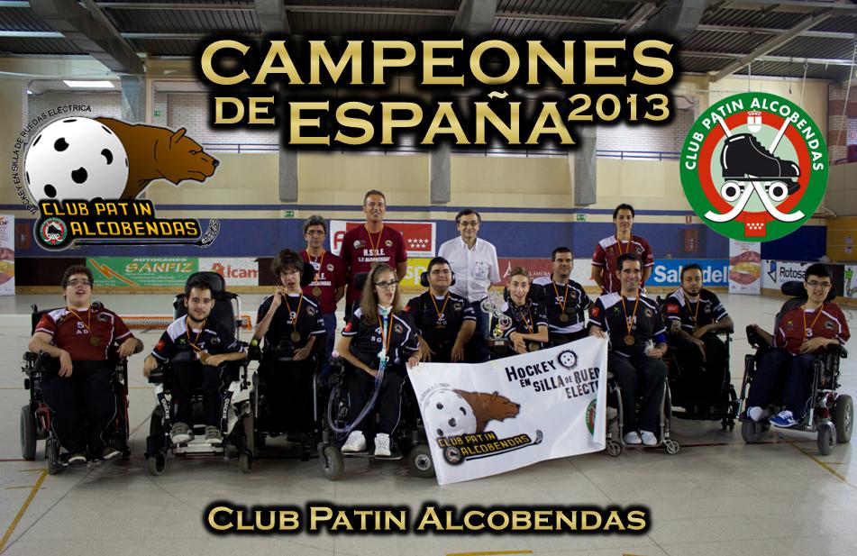 El Club Patín Alcobendas se proclama campeón de España de HSRE