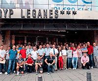 49 árbitros y 19 aspirantes asistieron este fin de semana al Clinic de Árbitros de BSR en Leganés