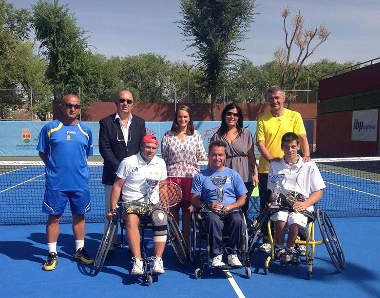 El tenis madrileño triunfa en el Open Ciudad de Alcorcón