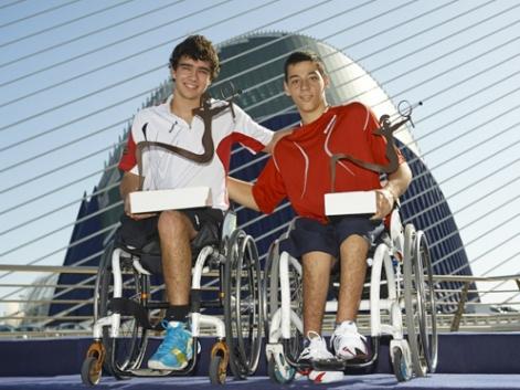 Daniel Caverzaschi conquista por tercera vez el Master Nacional de tenis en silla, tras jugar la final con Roberto Chamizo