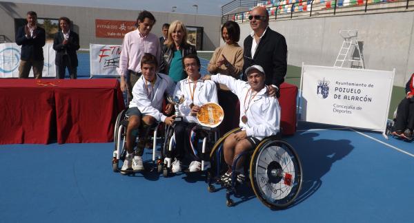 La selección de Madrid de Tenis en Silla, subcampeona del Campeonato de España por Comunidades