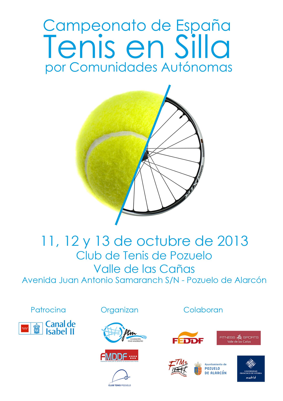 Campeonato de España de tenis en Silla por Comunidades Autónomas
