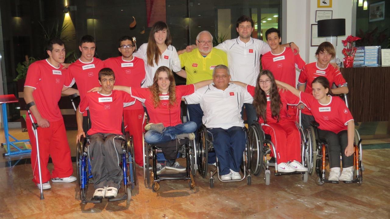 La Selección Madrileña de BSR en edad escolar, Subcampeona en el Campeonato de España por CCAA