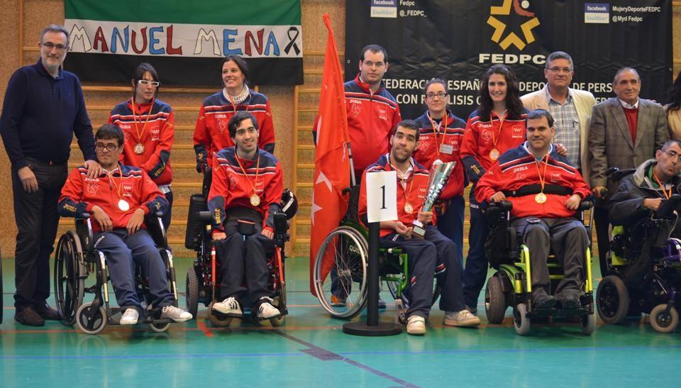 Madrid revalida el Campeonato de España de Boccia de Selecciones Autonómicas