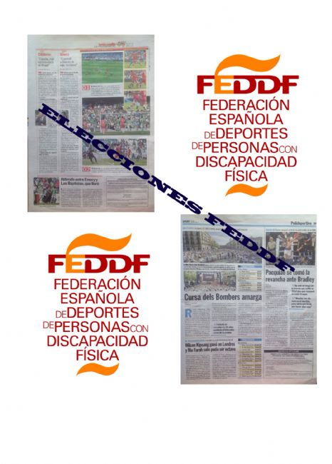 Anuncio de Convocatoria de elecciones de la Asamblea General de la FEDDF