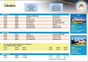 Calendario Copa de Europa BSR