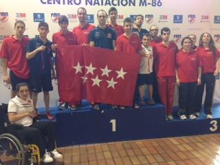 Grandes resultados de los nadadores madrileños en el Campeonato de España por Comunidades Autónomas 2014