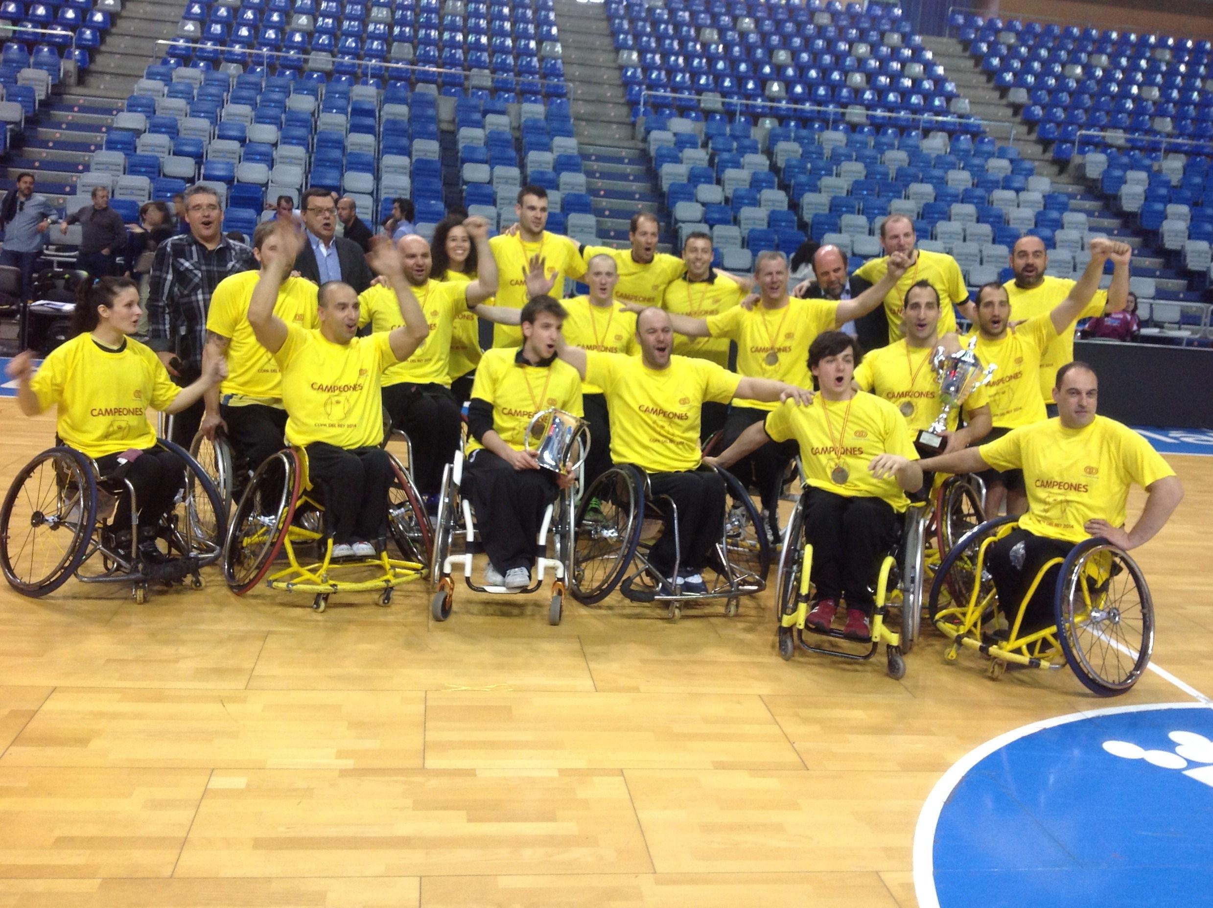 El CD Fundosa ONCE vence en la final a Getafe BSR y se proclama Campeón de la XXXVI Copa de S.M. el Rey