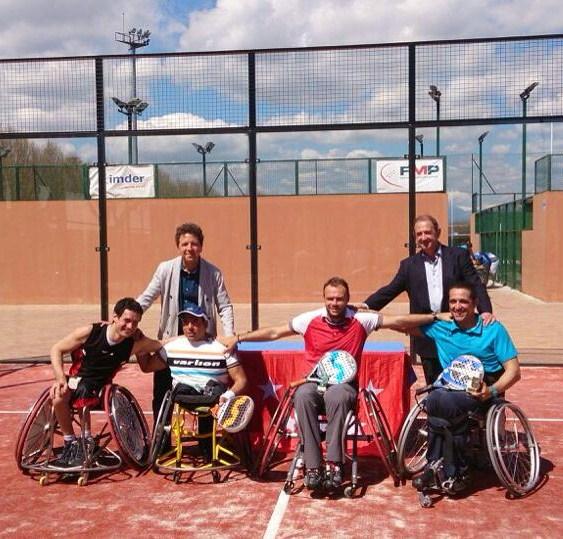Victoria para la pareja Agea-Castilla en la I Liga de Pádel federada Comunidad de Madrid