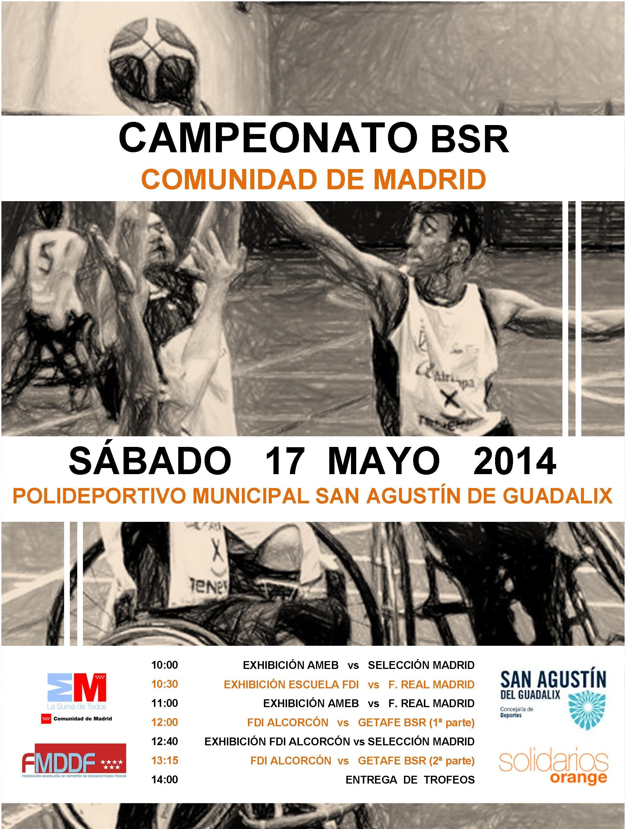 La I Copa de Madrid de BSR se celebrará este fin de semana en San Agustín de Guadalix
