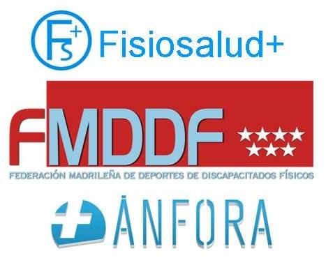 La FMDDF ha firmado acuerdos de colaboración con Fisiosalud+ y con Ánfora Ortopedia muy positivos para los deportistas federados