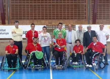 Los madrileños de los Toros-SAD de la FLM disputaron el I Campeonato de España de Quad-rugby contra Cataluña