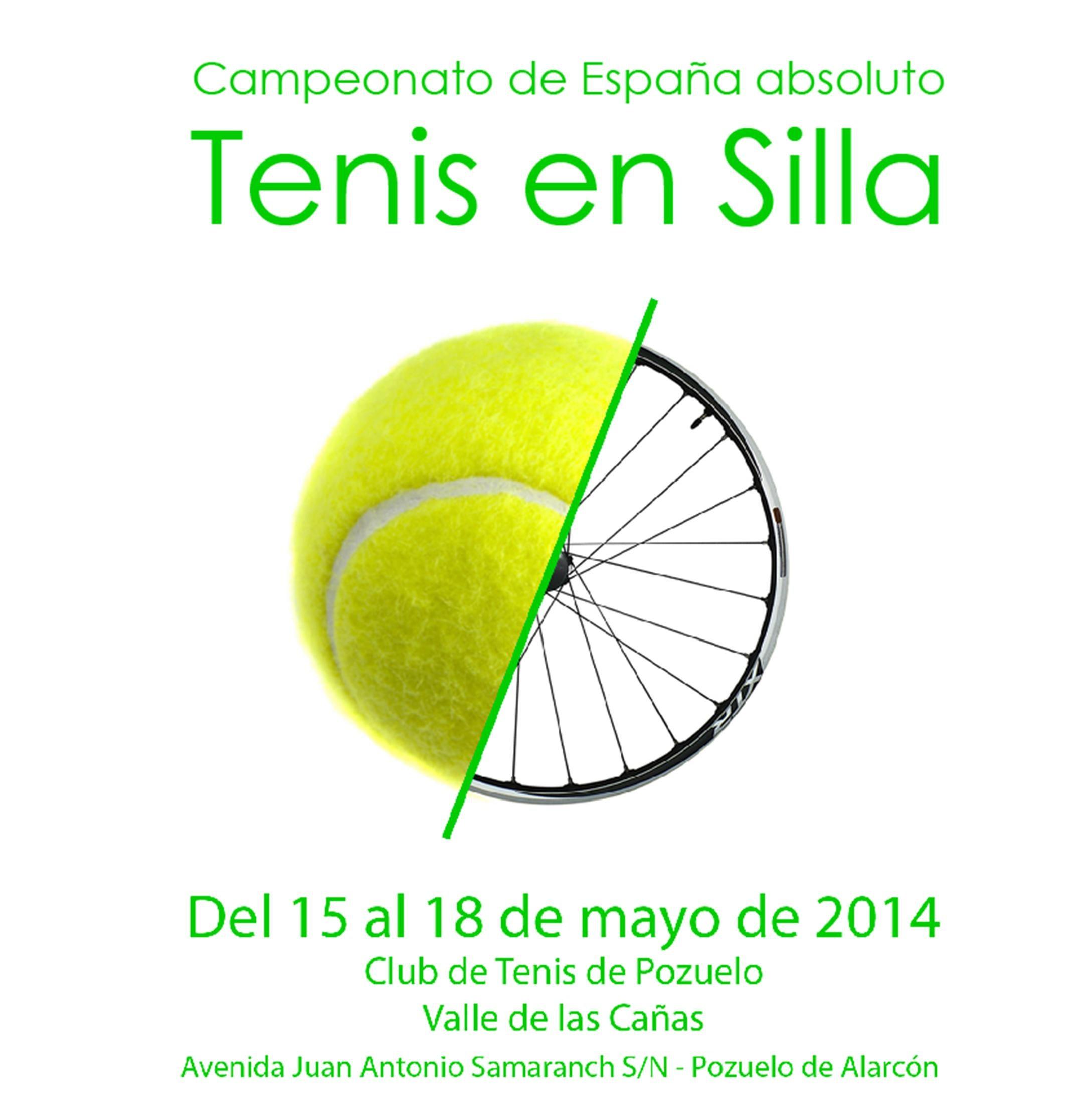 Este mes se celebra en Pozuelo el Campeonato de España absoluto de Tenis en Silla
