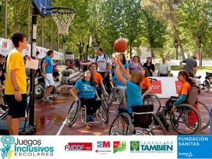 Foto Juegos Inclusivos Escolares