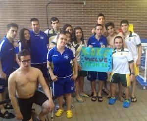 Foto nadadores madrileños 3