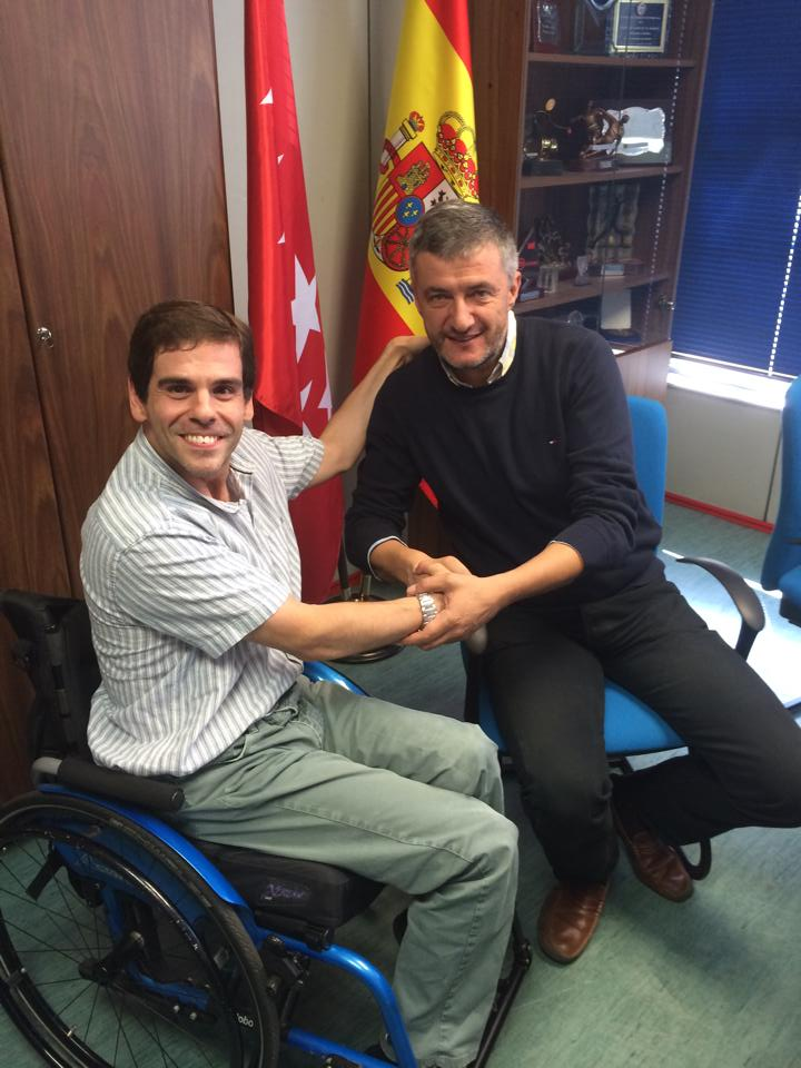 Firmado el acuerdo con la Federación Madrileña de Parálisis Cerebral