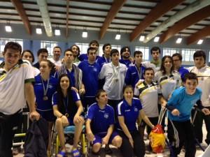 Foto nadadores madrileños Open Mareastur 2014