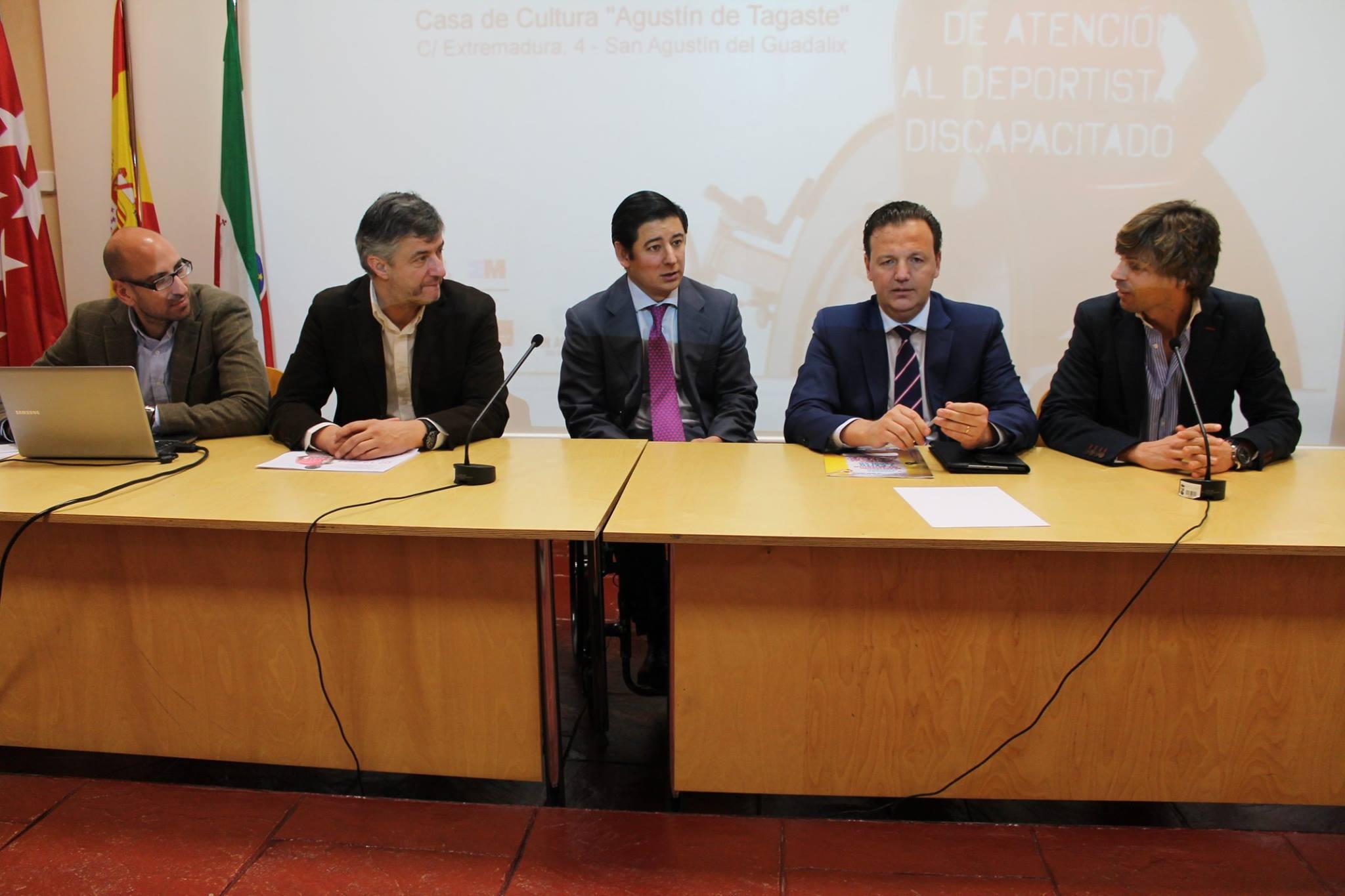 Presentación en San Agustín del Gauadalix el plan de acción de la Oficina de Atención al Deportista Discapacitado