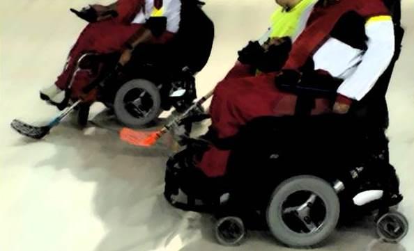 Curso de árbitro nacional de hockey en silla de ruedas eléctrica