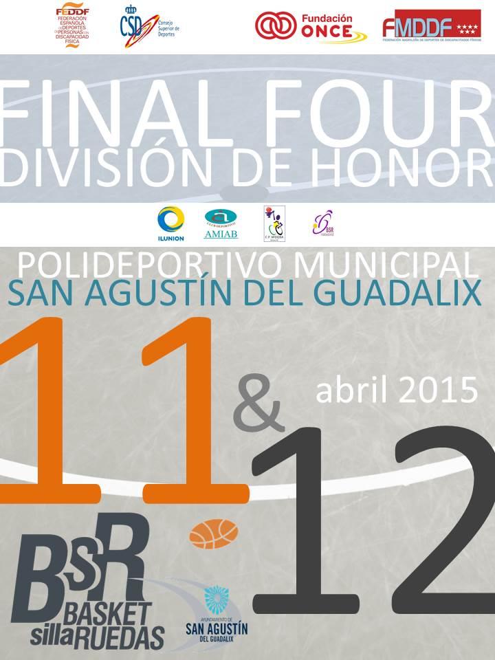 Por primera vez la División de Honor de BSR terminará con una Final Four entre los cuatro mejores equipos de la temporada
