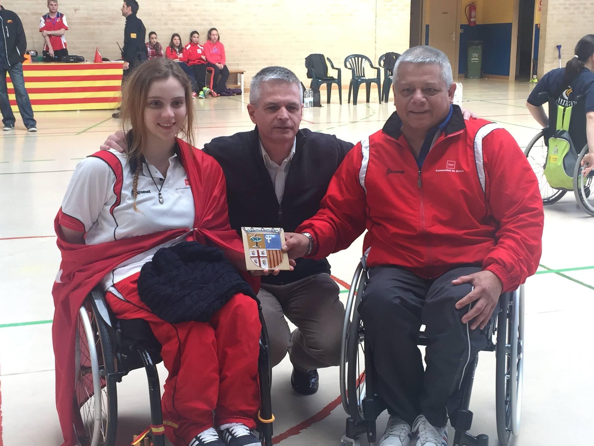 La selección madrileña de baloncesto en silla de ruedas finalizó en cuarta posición en el Campeonato de España