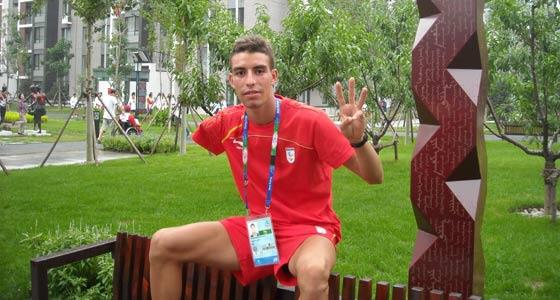 Abderrahman Ait Khamouch, de la Federación Madrileña, campeón del Mundo de Maratón para personas con Discapacidad