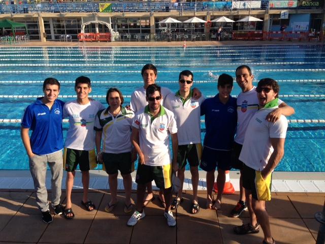 40 medallas para los nadadores madrileños en los campeonatos de España de natación adaptada por clubes