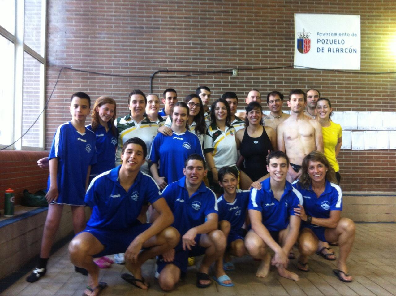 Medallero y resultados de los nadadores madrileños en el III Trofeo Ciudad de Pozuelo de Alarcón de natación adaptada