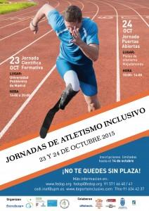 Jornadas Atletismo Inclusivo