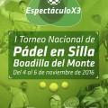 APLAZADO EL I TORNEO NACIONAL DE PADEL SR