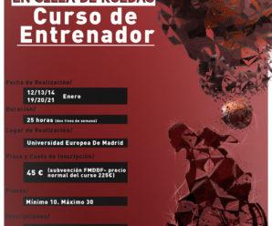 I CURSO DE ENTRENADOR BSR