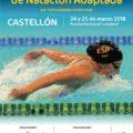 Castellón cita este fin de semana a la élite de la natación adaptada