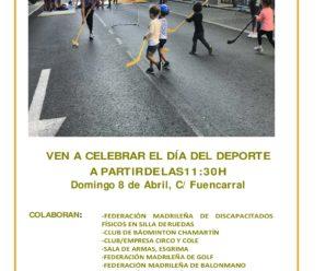 La FMDDF participará en el Día del Deporte de Chamberí