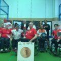 Gran éxito en el I Campeonato de España de Padel en silla por CCAA