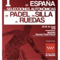 I Campeonato de España de Padel en Silla Ruedas por CCAA