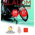 Leganés será escenario este fin de semana del Campeonato de España de Slalom en Silla de Ruedas