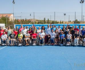 Rivas vuelve a lucir con el mejor tenis en silla