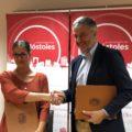 Celebrada la firma de convenio entre el Ayto. de Móstoles y la FMDDF