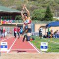 Sara Andrés, récord del mundo de longitud
