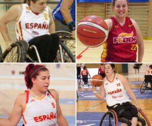 Cuatro madrileñas en la selección española de BSR