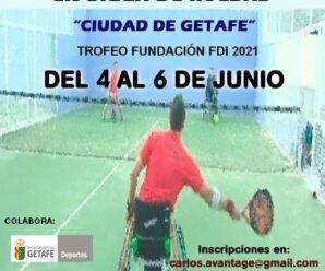 8ª Prueba Copa de España – XI Open Nacional de pádel en silla Ciudad de Getafe