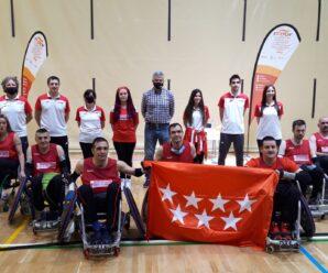 Revive con las mejores imagenes el Campeonato de España de SSAA de Rugby en silla de ruedas 2021