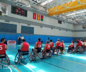 Gran éxito en el Campeonato de Madrid de Baloncesto de veteranos en silla de ruedas