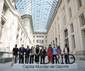 Carlos Martínez y Sara Andrés, embajadores de Madrid Capital del Deporte 2022